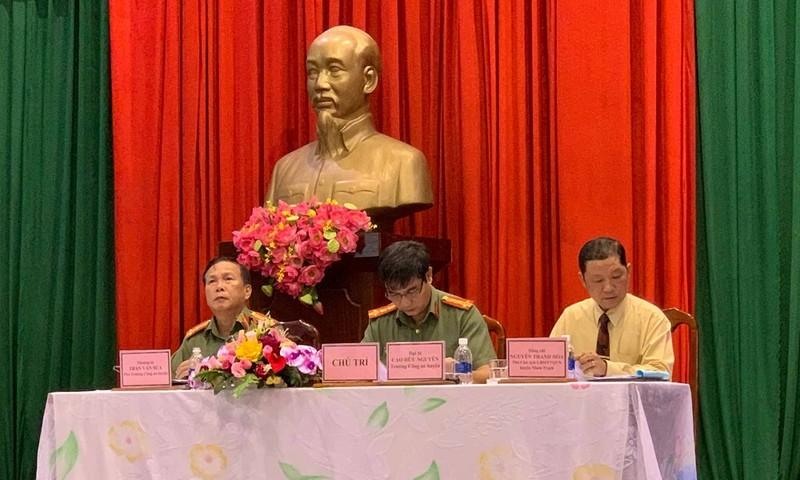 Công an huyện Nhơn Trạch kịp thời nắm bắt tâm tư của người dân