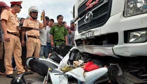 Xét nghiệm lại mẫu thử ma túy tà i xế gây tai nạn thảm khốc tại Long An