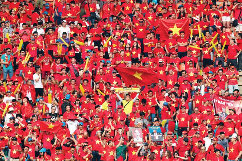 Bóng đá Việt Nam căng tràn thăng hoa - Ảnh 2