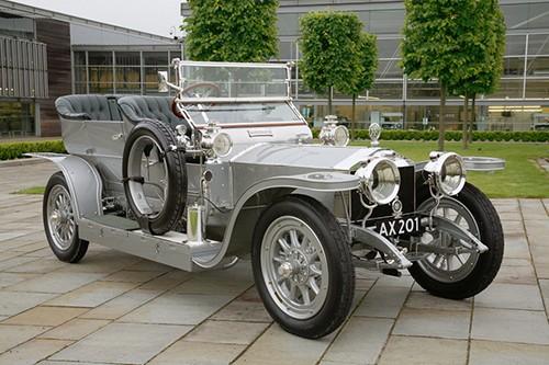 Rolls-Royce Silver Ghost năm 1907.