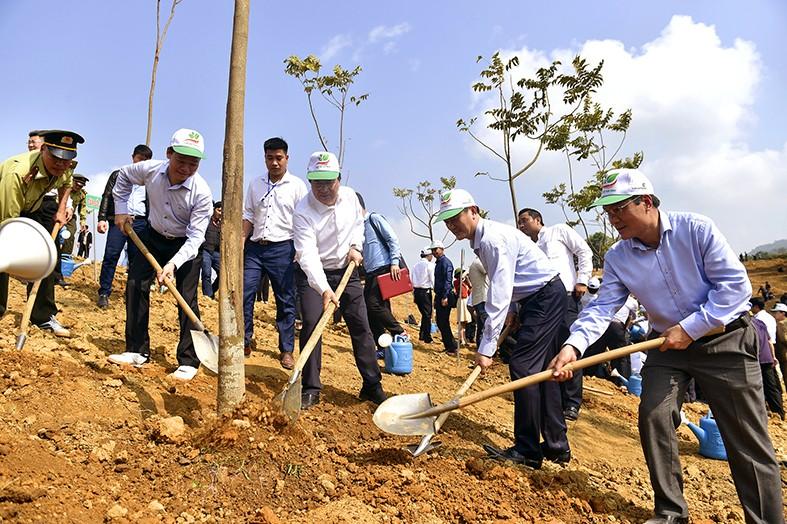 Tổng Bí thư, Chủ tịch nước Nguyễn Phú Trọng phát động Tết trồng cây - Ảnh 4