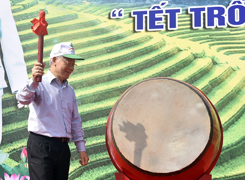 Tổng Bí thư, Chủ tịch nước Nguyễn Phú Trọng phát động Tết trồng cây - Ảnh 1