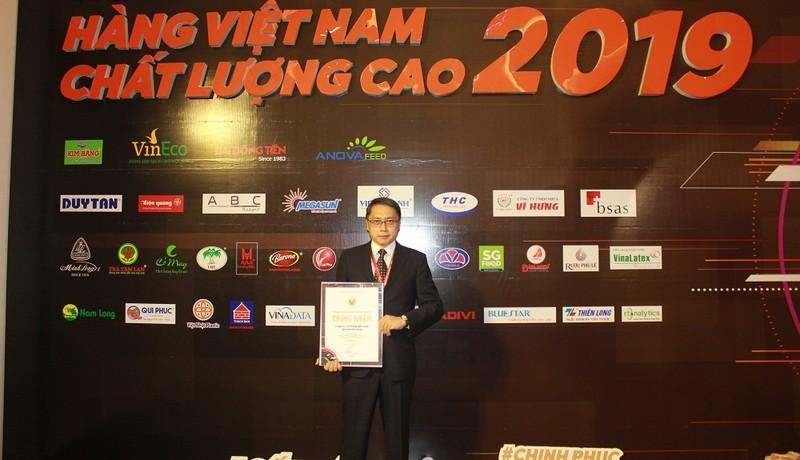 Vedan Việt Nam tiếp tục được vinh danh hàng Việt Nam chất lượng cao năm 2019
