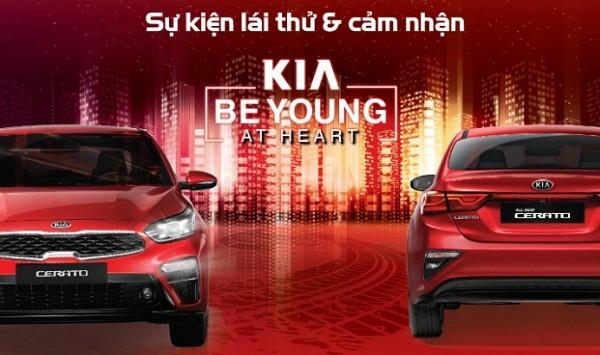 """Khởi động chuỗi sự kiện lái thử xe """"Kia – Be Young At Heart"""""""