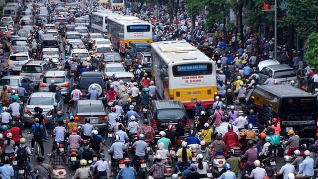 Nhiều băn khoăn quanh đề xuất cấm xe máy ở Hà Nội