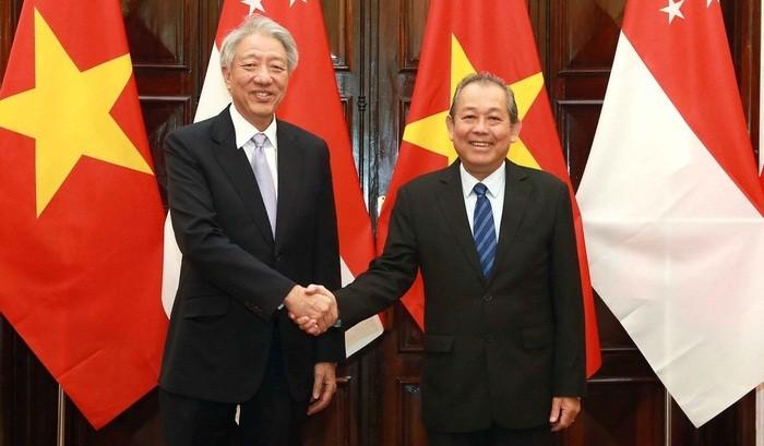 Việt Nam – Singapore: Thúc đẩy quan hệ Đối tác chiến lược đi vào chiều sâu