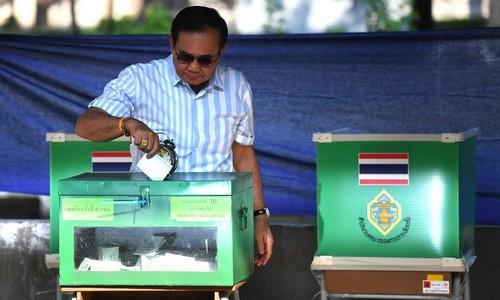 51 triệu cử tri Thái Lan lần đầu đi bầu cử sau 8 năm