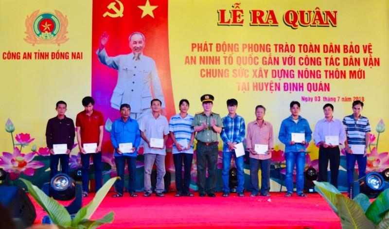 """Quỹ """"Doanh nhân với an ninh trật tự"""" tại Đồng Nai: Đồng vốn nghĩa tình giúp người hoàn lương khởi nghiệp"""