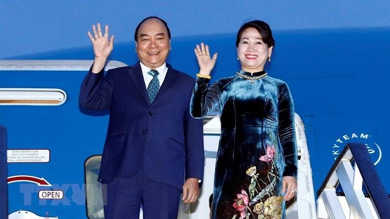 Hình ảnh hoạt động của Thủ tướng Nguyễn Xuân Phúc tại Romania