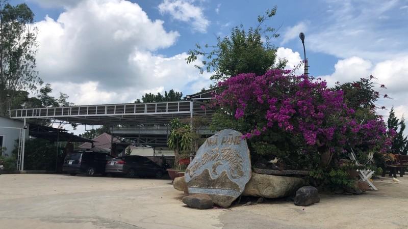 Đà Lạt, Lâm Đồng: Công trình không phép tại Di tích lịch sử - danh lam Đồi Trăng
