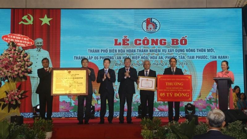 Thành phố Biên Hòa hoàn thành xây dựng nông thôn mới
