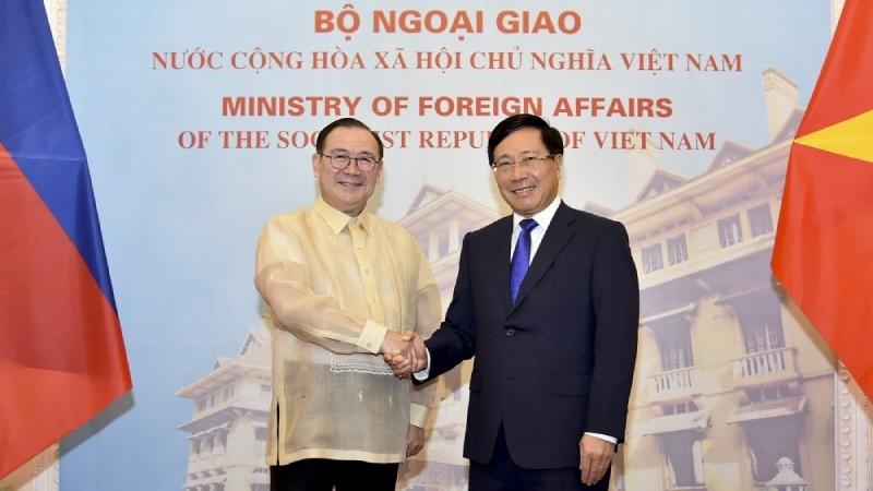 Việt Nam – Philippines: Kiên trì nguyên tắc giải quyết hòa bình các tranh chấp ở Biển Đông phù hợp với luật pháp quốc tế