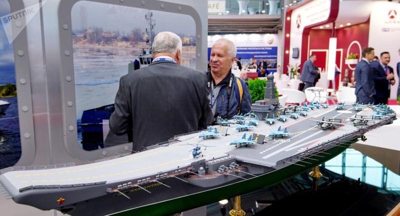 45 phái đoàn nước ngoài dự Triển lãm Hải quân Quốc tế tại Nga