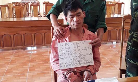 Bắt người Lào vận chuyển 2.000 viên ma túy tổng hợp qua biên giới