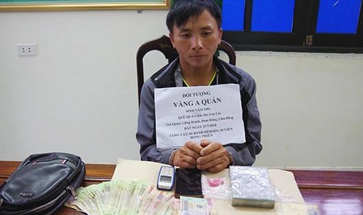 Bắt kẻ xách thuê 1 bánh heroin vào Lâm Đồng lấy 10 triệu đồng tiền công
