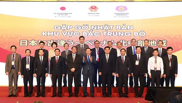 Phó thủ tướng Vương Đình Huệ dự Hội nghị gặp gỡ Nhật Bản – khu vực Bắc Trung bộ