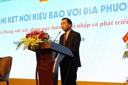 Khai mạc Hội nghị kết nối kiều bào tại Nghệ An, Hà Tĩnh