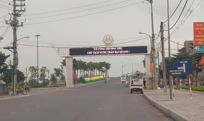 Cầu Non Nước - điểm đầu tiên đón cố Chủ tịch nước Trần Đại Quang về quê nhà