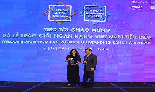Home Credit được vinh danh tại Lễ trao giải Ngân hàng Việt Nam tiêu biểu 2017