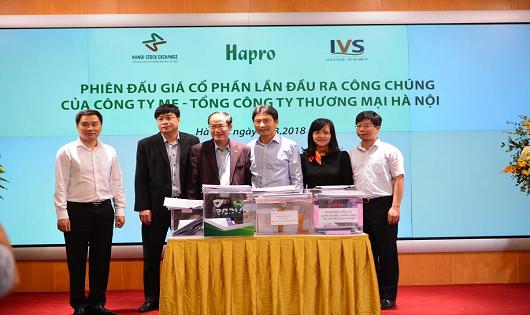 IPO thành công cổ phần Hapro, thu gần 1.000 tỷ đồng