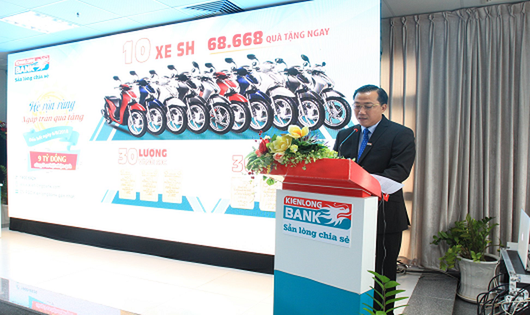 Kienlongbank xác định được 340 khách hàng trúng thưởng với tổng giá trị 3 tỷ đồng