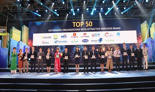 """SCB nằm trong """"Top 5 Ngân hàng Việt có môi trường làm việc tốt nhất"""" lần thứ hai liên tiếp"""