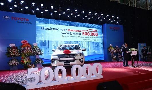 Toyota Việt Nam xuất xưởng chiếc xe thứ 500.000