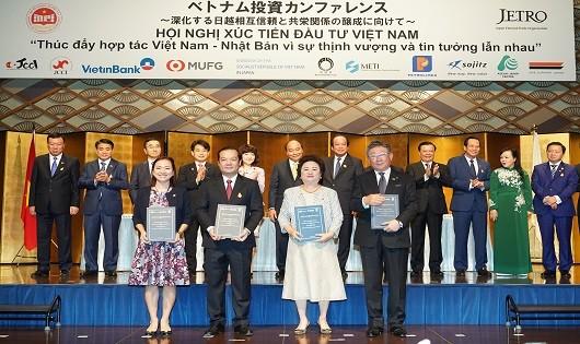 Doanh nghiệp Việt Nam- Nhật Bản thỏa thuận hợp tác trong lĩnh vực Fintech, phát triển thành phố thông minh
