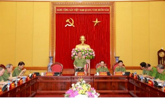Bộ trưởng Tô Lâm chỉ đạo đẩy nhanh điều tra các vụ án tham nhũng