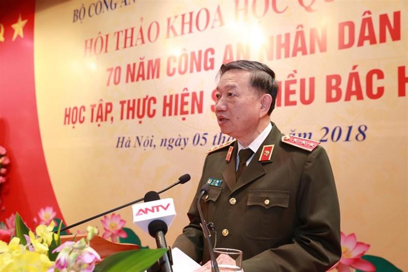 Thượng tướng Tô Lâm, Ủy viên Bộ Chính trị, Bộ trưởng Bộ Công an