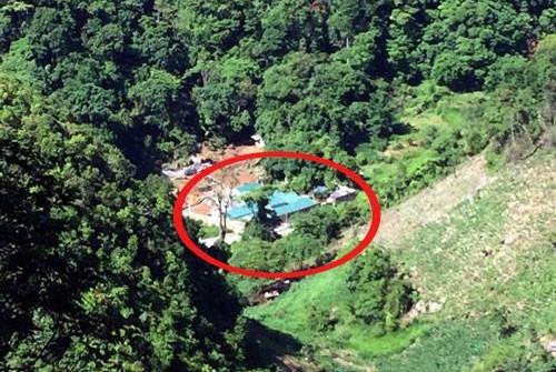 Nhà của Tuân cách nhà của Thuận chừng 600m, trước đây luôn có 17 người bảo vệ. Ảnh: Bá Đô