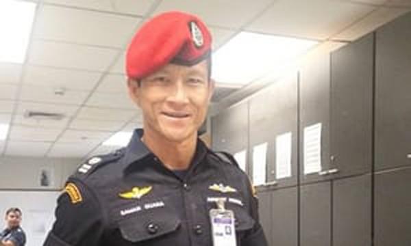 Đặc nhiệm Saman Kunan, người thiệt mạng trong lúc làm nhiệm vụ. Ảnh: Facebook.
