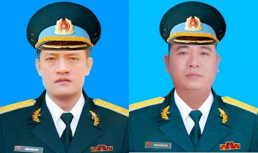 Truy thăng quân hàm cho 2 sỹ quan phi công mới hy sinh