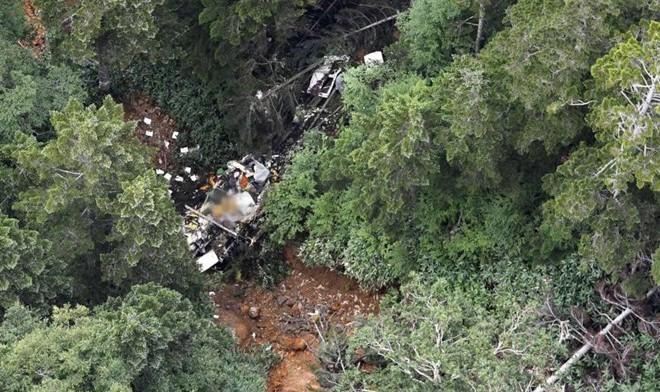 Rơi máy bay ở Nhật bản, 9 người thiệt mạng
