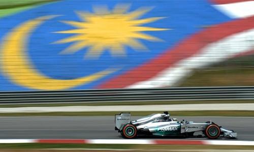 Malaysia sẽ không tổ chức giải đua Công thức 1 từ năm 2018. Ảnh: AFP.