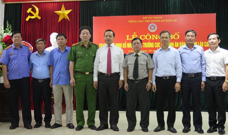 Bổ nhiệm tân Cục trưởng Cục THADS tỉnh Lào Cai
