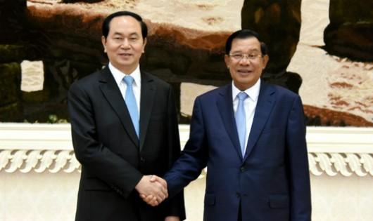 Thủ tướng Hun Sen: Chủ tịch nước Trần Đại Quang là người bạn tốt của Campuchia