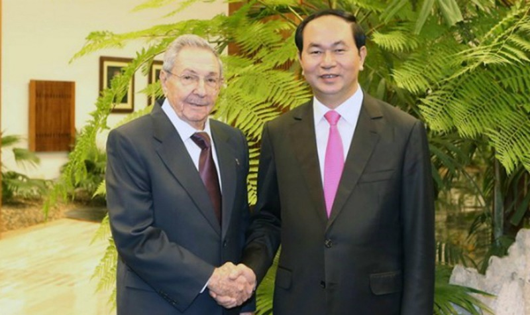 Cuba gửi lời chia buồn sâu sắc tới Việt Nam