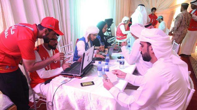 Hoàng tử UAE vung tiền mua hết vé, ngăn không cho CĐV Qatar vào sân - 2