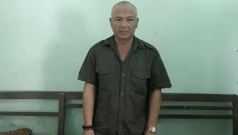 Đối tượng Nguyễn Văn Thương. Ảnh: Công an tỉnh Quảng Bình.