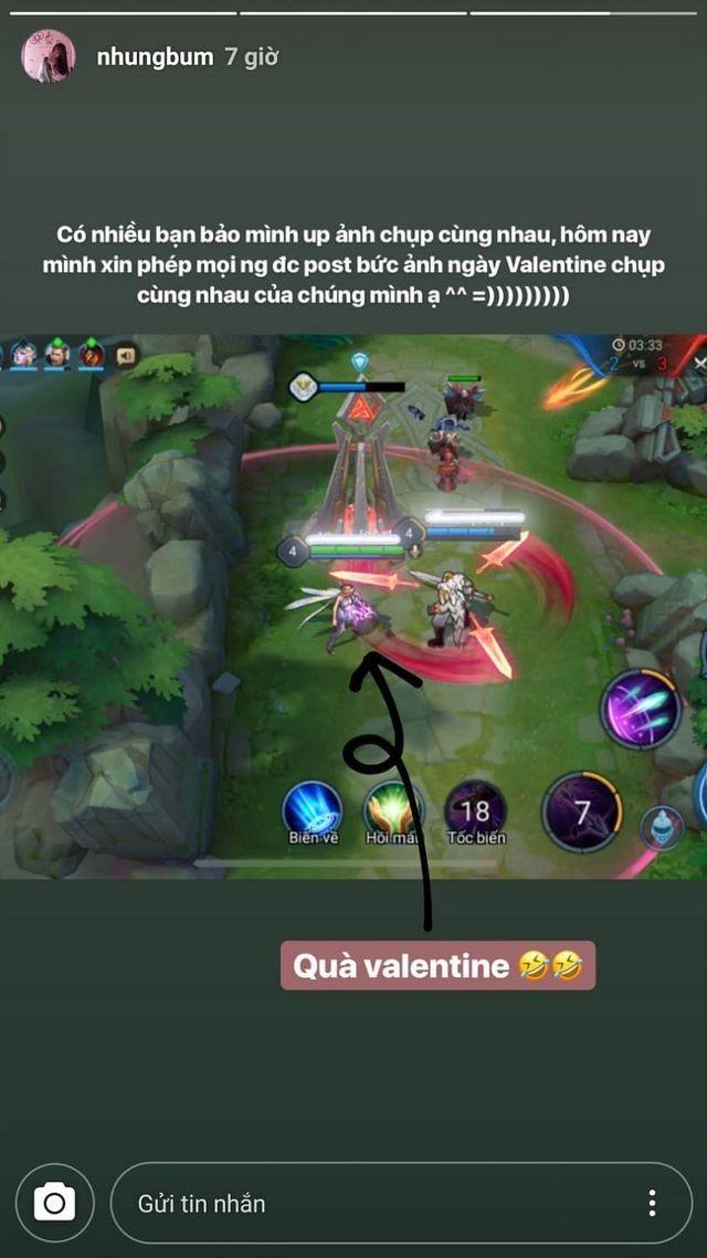 Dàn bạn gái tuyển U23 Việt Nam hào hứng khoe quà được tặng ngày Valentine - 7