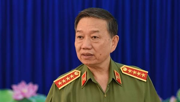 Bộ trưởng Tô Lâm khen lực lượng phá đường dây ma túy 'khủng' tại TP HCM