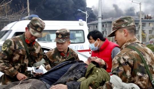 Nổ nhà máy hóa chất ở Trung Quốc, ít nhất 47 người chết - Ảnh 2.
