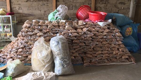 Phát hiện hàng tấn thuốc Ama Kông 'nhái' ở Đắk Lắk