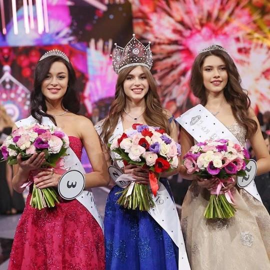 Cận cảnh nhan sắc ngọt ngào của tân Hoa hậu Nga - Ảnh 3.