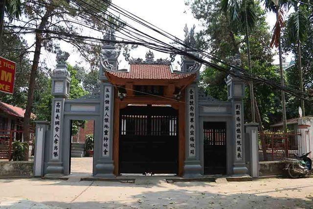 Hà Nội: Bí ẩn hang ngầm dưới đình cổ giáp hồ Tây - 8