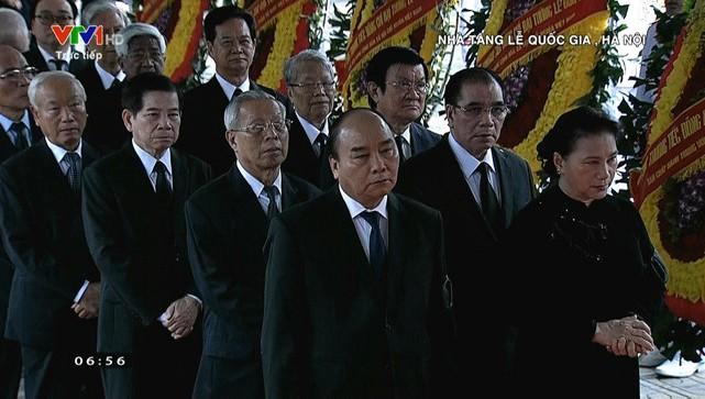Lãnh đạo Đảng, Nhà nước viếng nguyên Chủ tịch nước, Đại tướng Lê Đức Anh