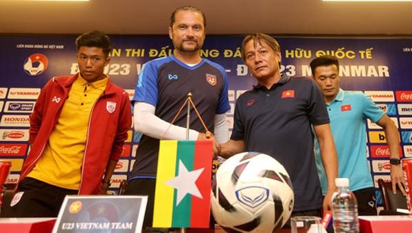 HLV tuyển Myanmar nói gì trước trận gặp U23 Việt Nam tối nay?