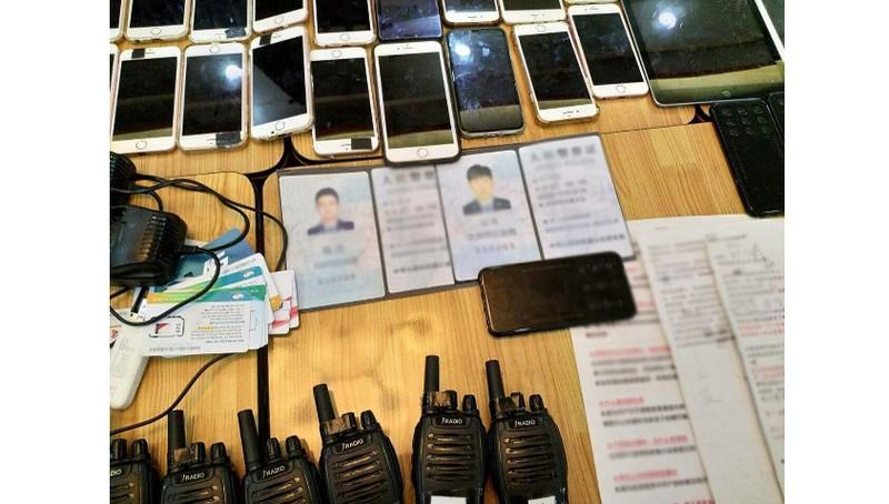 Phát hiện 20 người giả công an Trung Quốc để lừa chiếm tài sản tại TP HCM