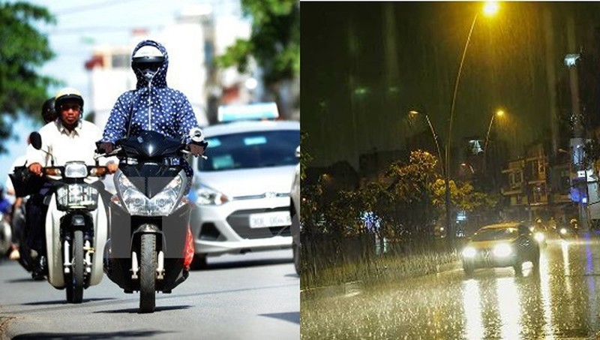 Hà Nội ngày mai nắng nóng, chiều tối đề phòng mưa giông